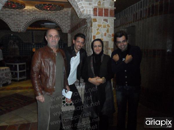 عکسهای بازیگران در پشت صحنه خوشا شیراز