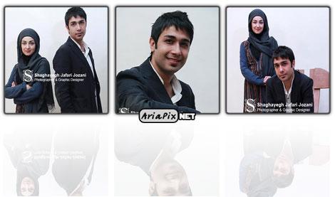 عکسهای حسین مهری و ویدا جوان