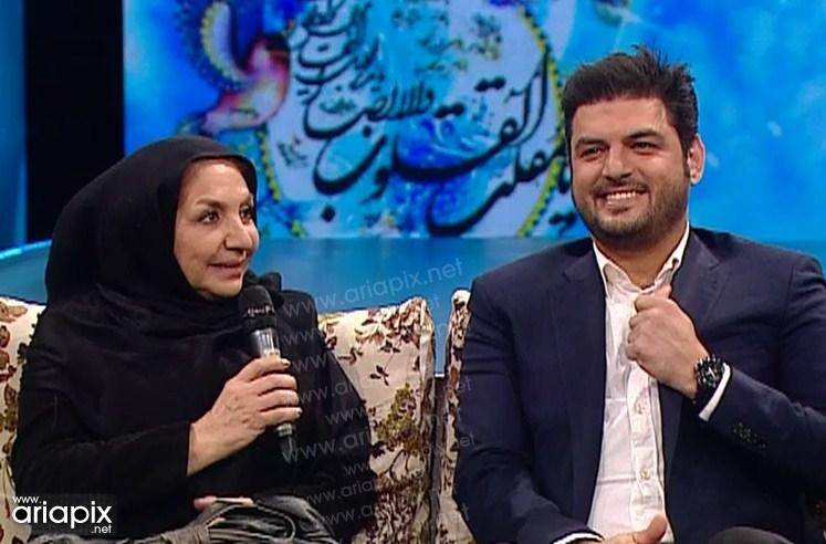 سام درخشانی و مادرش در برنامه نوروز 92