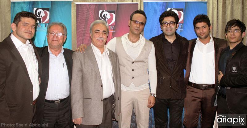 عکسهای کنسرت شهرام شکوهی با حضور هنرمندان