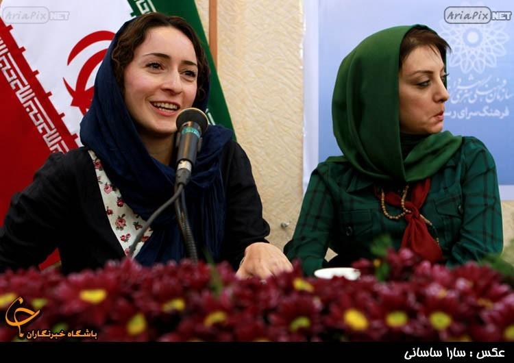 نشت بازیگران وضعیت سفید  -حمیرا ریاضی و سهیلا گلستانی