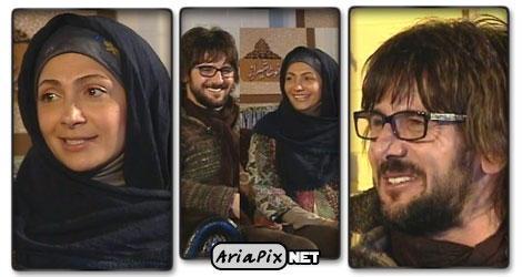 عکسهای امین حیایی و همسرش در خوشا شیراز