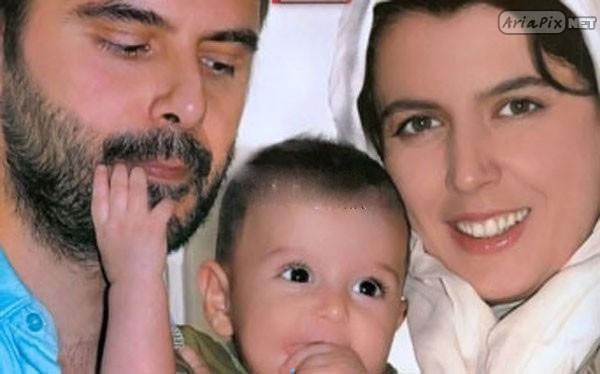 عکس های بازیگران ایرانی همراه با فرزندانشان
