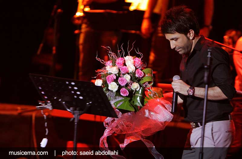 عکس های کنسرت علی لهراسبی در برج میلاد با حضور برخی از هنرمندان