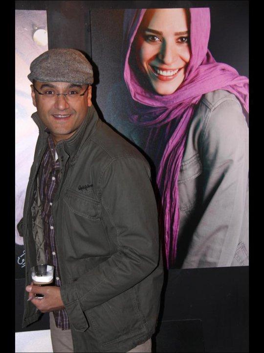 رامید جوان و همسرش