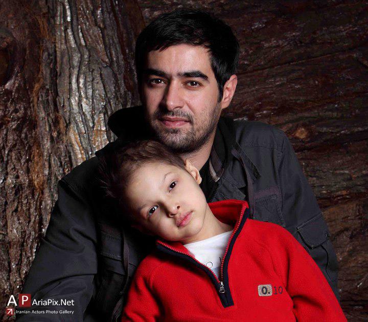عکسهای شهاب حسینی , جدیدترین عکس شهاب حسینی مهر 90 , شهاب حسینی و پسرش