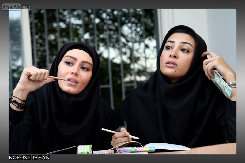 حدیثه تهرانی و سحر قریشی مهر 90