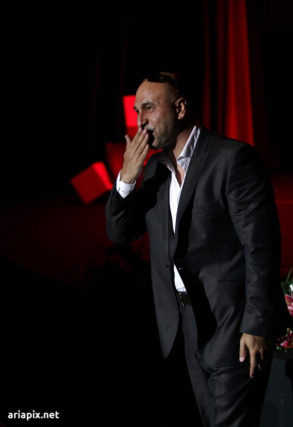 حمید فرخ نژاد در کنسرت مازیار فلاحی