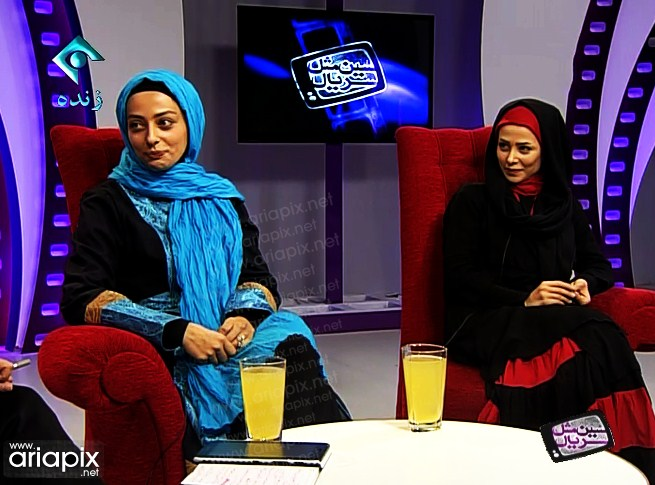 نقیسه روشن و الناز حبیبی بازیگران زن در سال 92