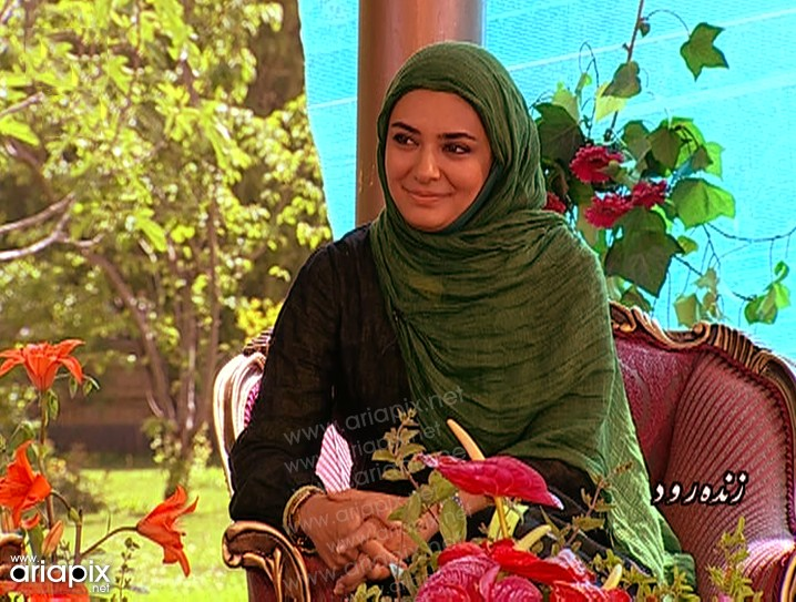 عکسهای جدید لیندا کیانی و احمد مهرانفر در برنامه زنده رود