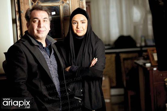 سیامک انصاری(بازیگر) و همسرش