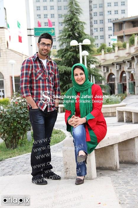 عکسهای جدید از حسین مهری و فاطمه گودرزی
