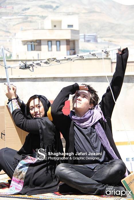 عکس های جدید امیر کاظمی و همسرش مهتاب محسنی