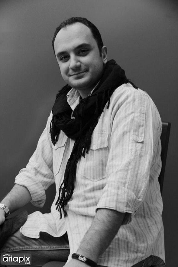 عکسهای احسان کرمی مجری ایرانی