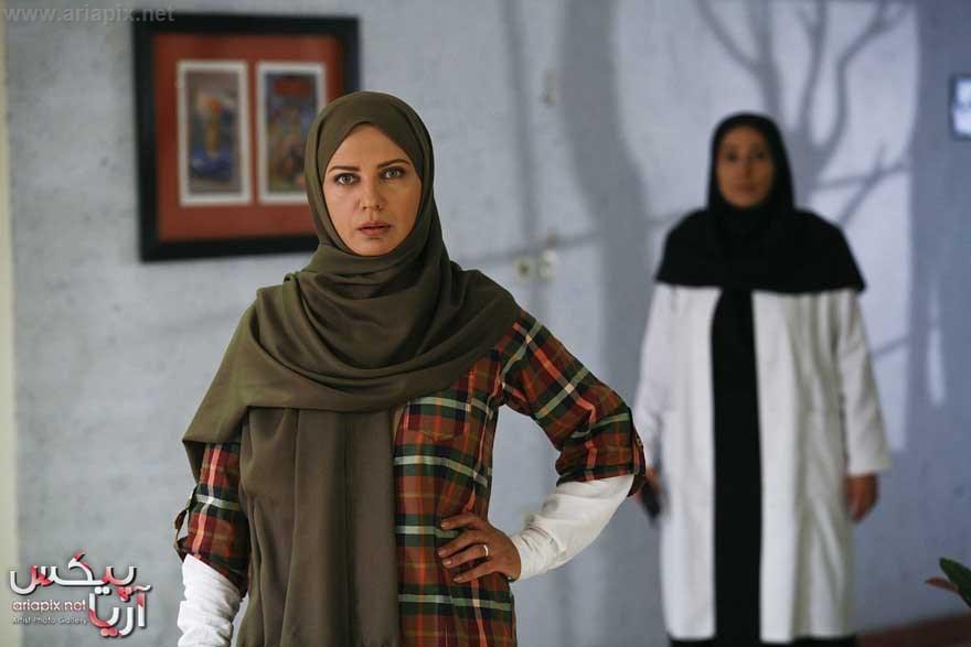 لعیا زنگنه در سریال ماردانه در نقش رعنا