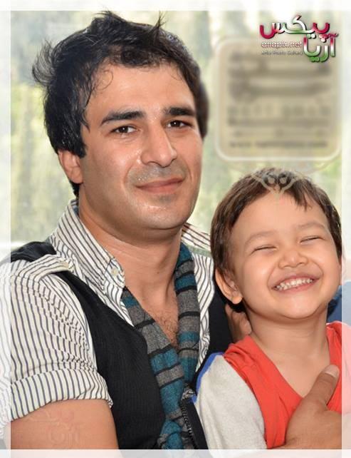 یوسف تیموری و پسرش,جدیدترین عکس یوسف تیموری و پسرش
