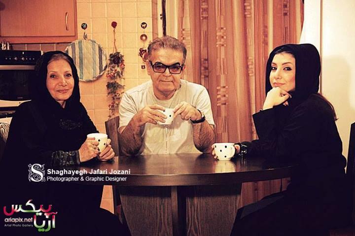 عکس های جدید حمید لولایی به همراه همسر و دخترش
