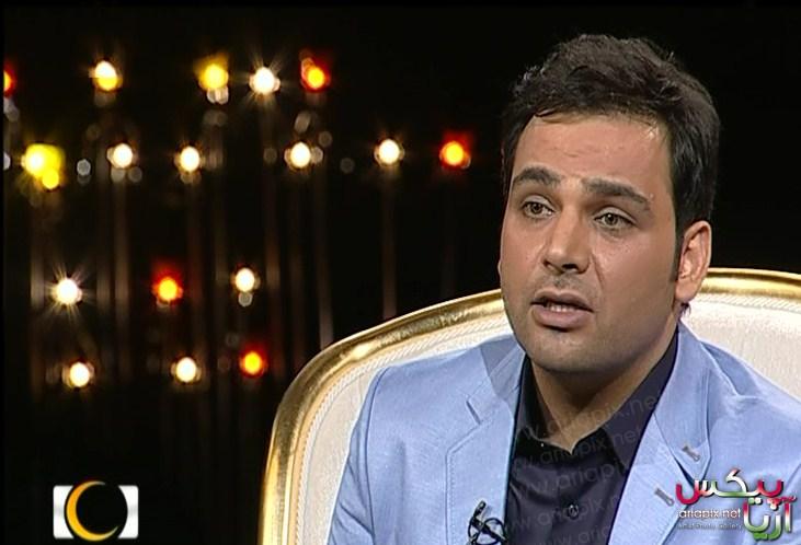 عکس های احسان علیخانی در اولین برنامه ماه عسل 92
