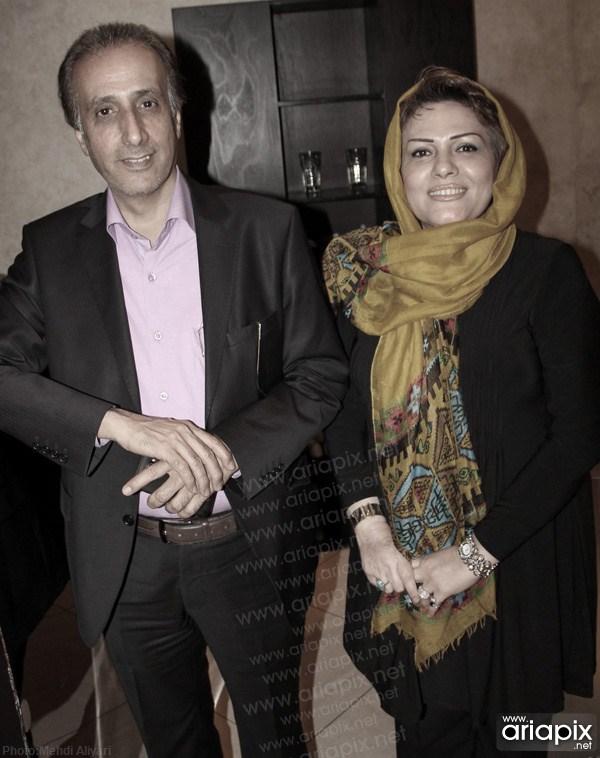 محمدرضا حیاتی و همسرش/عکسهای محمدرضا حیاتی