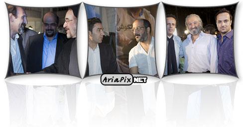 پشت صحنه سریال شاهگوش با حضور آقای خاتمی و بازیگران سریال شاهگوش