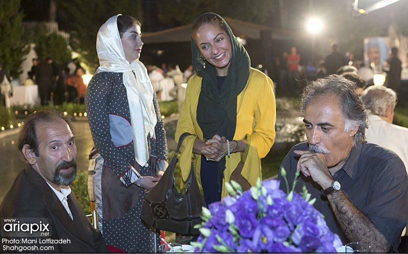 عکس / حضور مهناز افشار در پشت صحنه سریال شاهگوش / مرداد 92