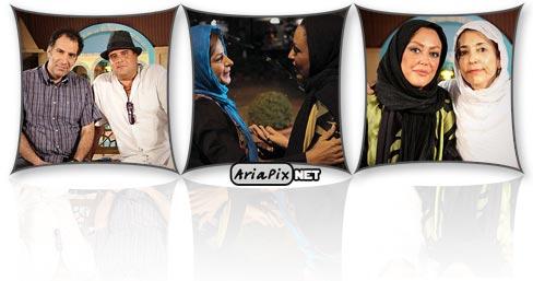 عکسهای یادگاری از نشست بازیگران دودکش و مادرانه