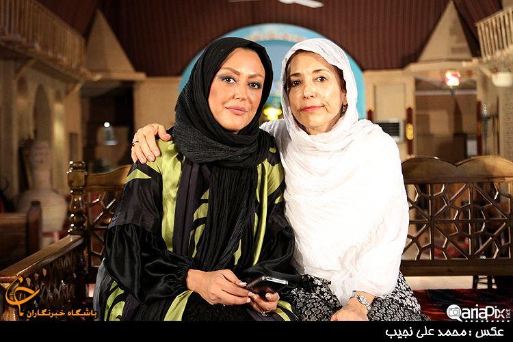 شقایق فراهانی و مادرش فهیمه رحیم نیا / عکس جدید