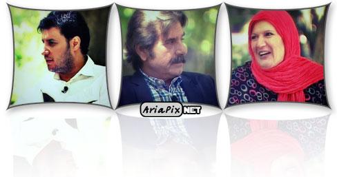 جواد عزتی,عزت آلله مهرآوران و شهین تسلیمی خوشا شیراز