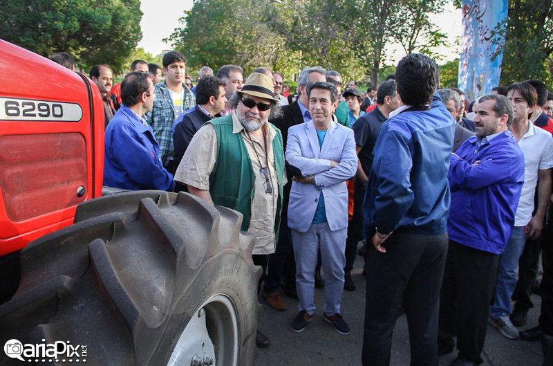 عکسهای بازیگران در تبریز / شهریور 92