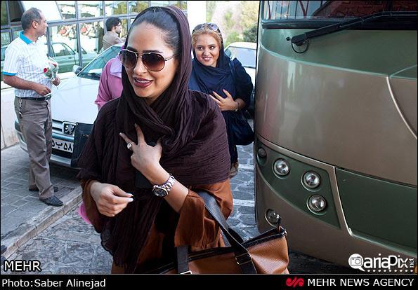 عکسهای بازیگران در سفر به تبریز