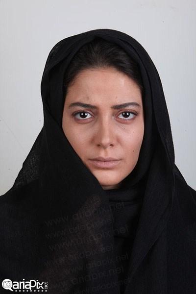 Tannaz Tabatabei his 03 عکسهای طناز طباطبایی در تست گریم فیلم هیس دخترها فریاد نمیزنند