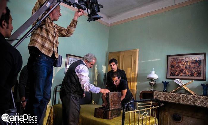 پشت صحنه عکس سریال زمانی برای عاشقی