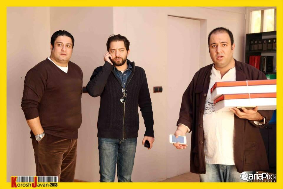 عکسهای دیدار مهران مدیری و بهرام رادان