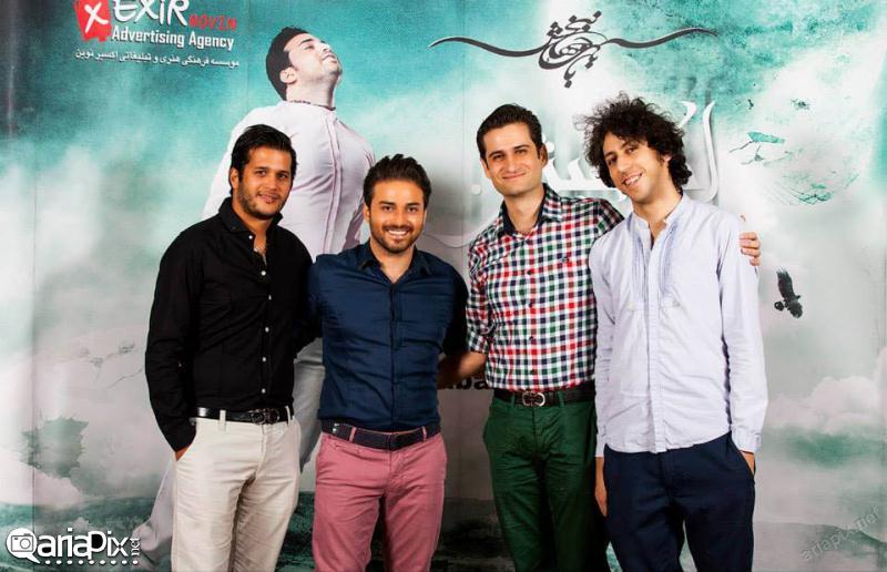 عکسهای بازیگران ایرانی در کنسرتها