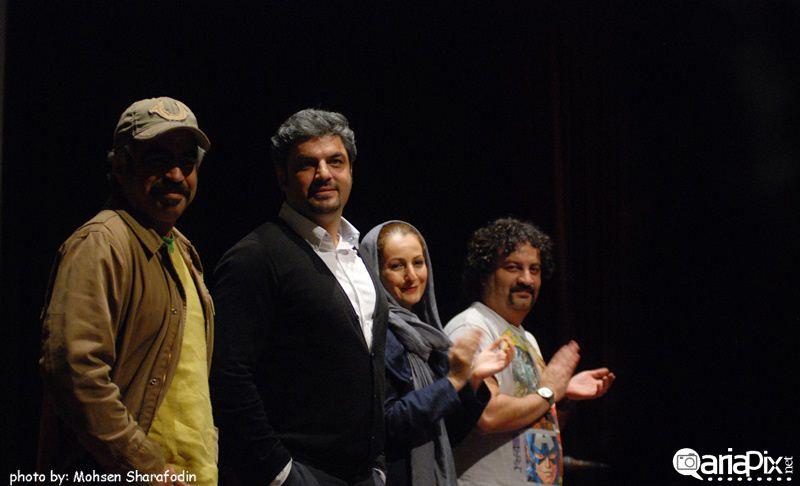 نشست خبری سریال پژمان در فرهنگسرای ارسباران / 30 آبان 92