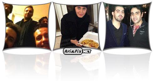 عکسهای جدید بازیگران در ایام محرم ۹۲