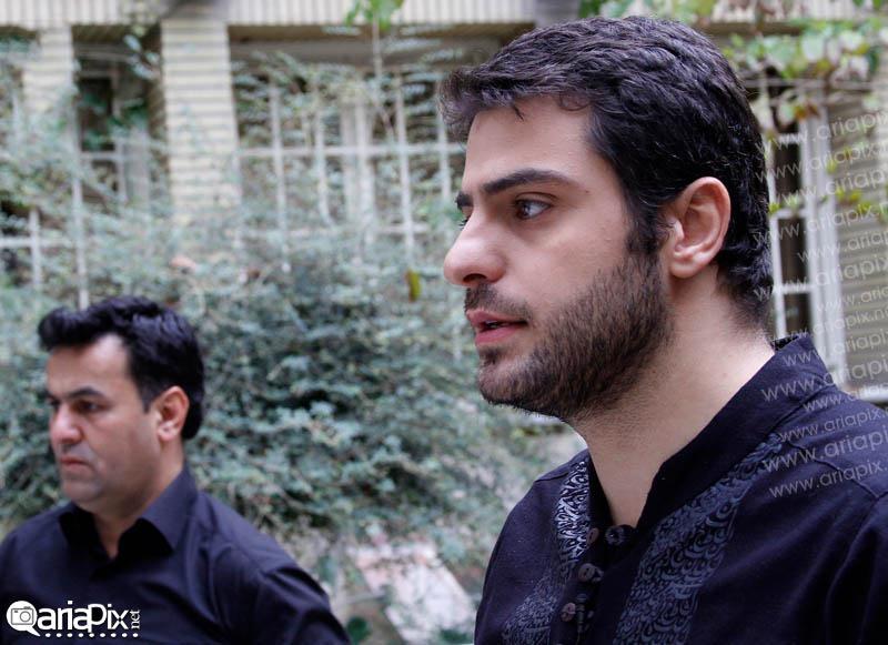 علی ضیا در محرم 92