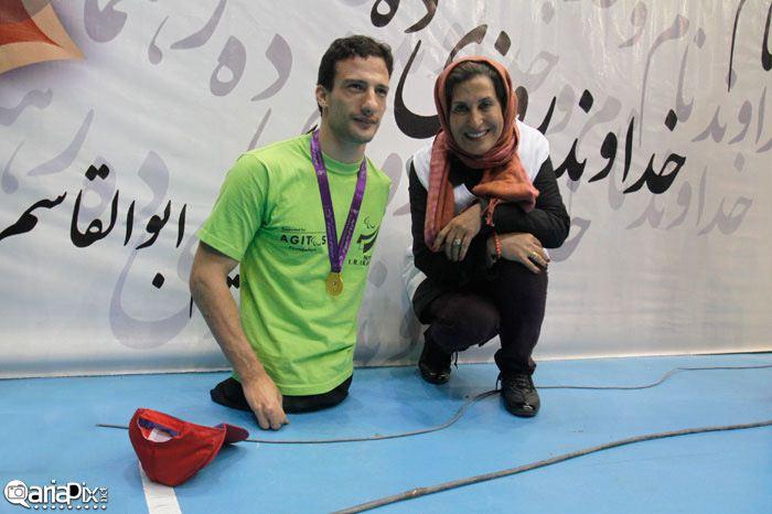 عکسهای مراسم روز پارالمپیک با حضور بازیگران