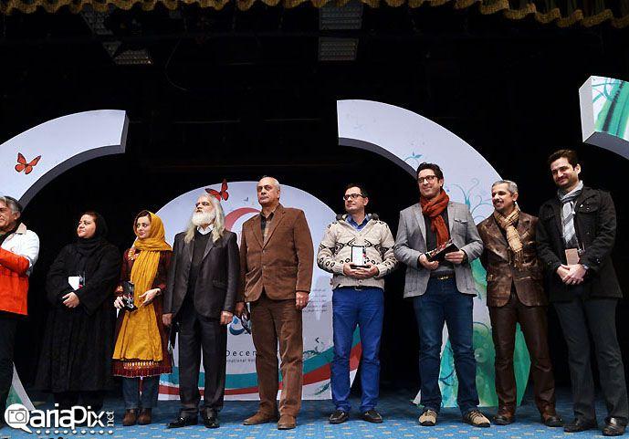 مراسم تقدیر از داوطلبان هلال احمر بازیگران