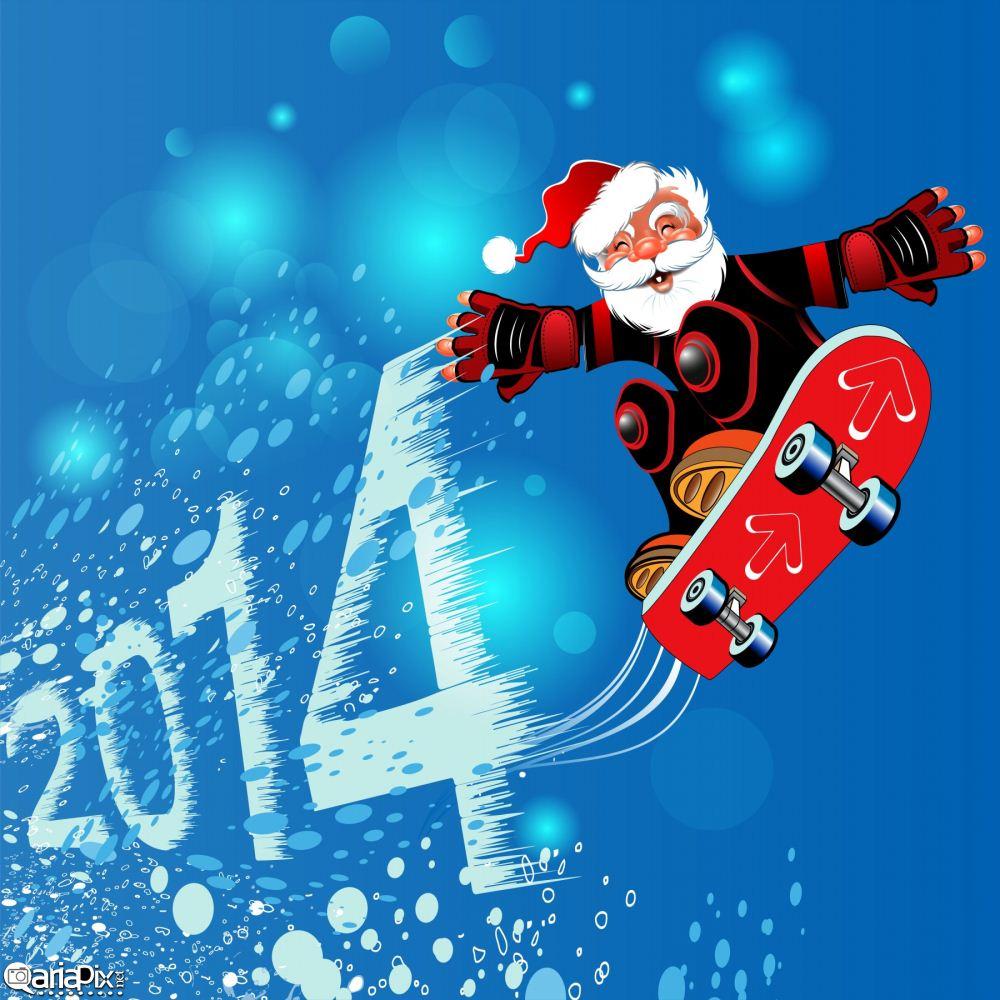 عکس پس زمینه کریسمس 2014,سال نو میلادی 2014