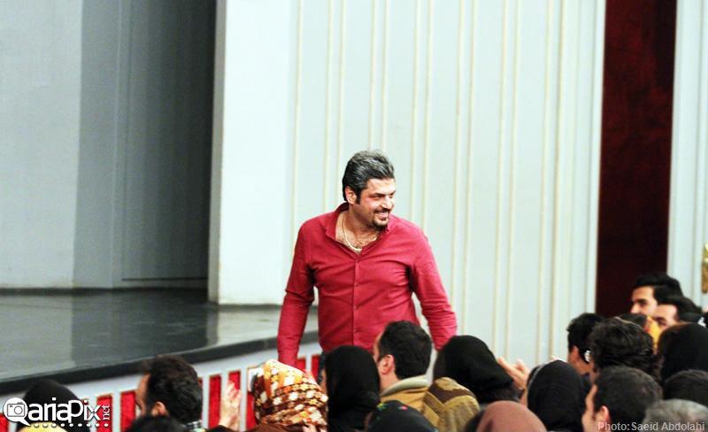 کنسرت گروه دارکوب با بازیگران دی ماه 92