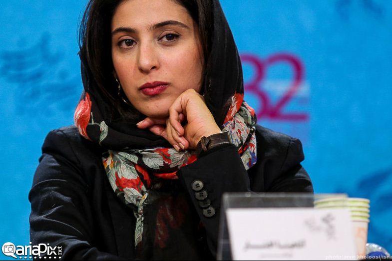 آناهیتا افشار / عکس / نشست خبری فیلم برف / جشنواره فیلم فجر 92