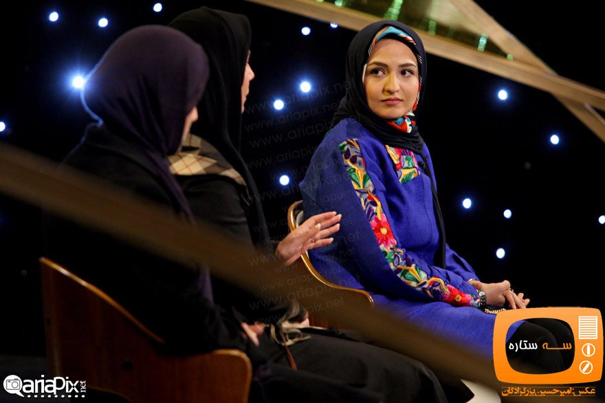 بازیگران زن برتر ایرانی در برنامه سه ستاره