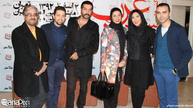 کنسرت سعید عرب با حضور بازیگران ایرانی