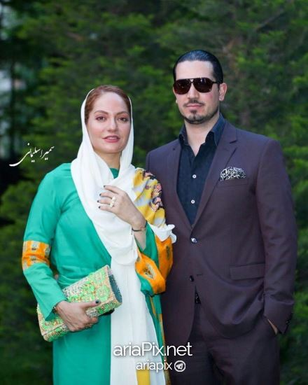 مهناز افشار و همسرش در اکران خصوصی نهنگ عنبر 2