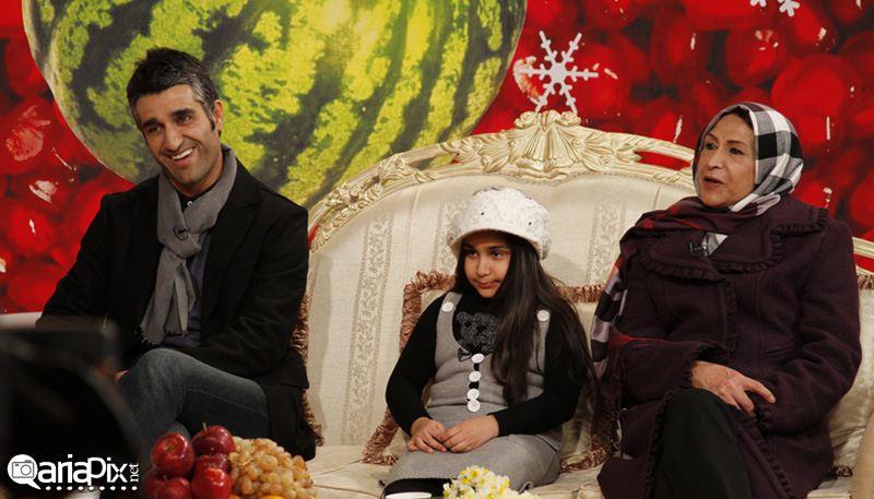پژمان جمشیدی و مادرش,عکس پژمان جمشیدی و مادرش در شب یلدا