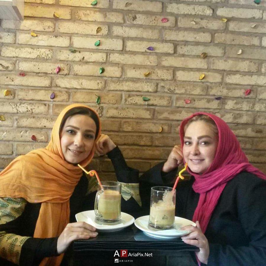 سارا صوفیانی بازیگر سریال روزهای بی قراری در کنار الهام حمیدی